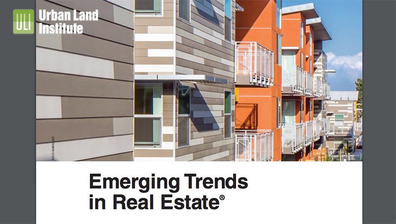 ULI Emerging Trends 2017